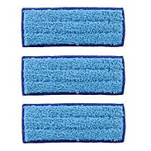 Washable Wet Mopping Pads for iRobot Braava Jet 240 241- 3 Pack, Designed by KEEPOW