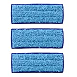 KEEPOW 3 Pack Washable Wet Mopping Pads for iRobot Braava Jet 240 241