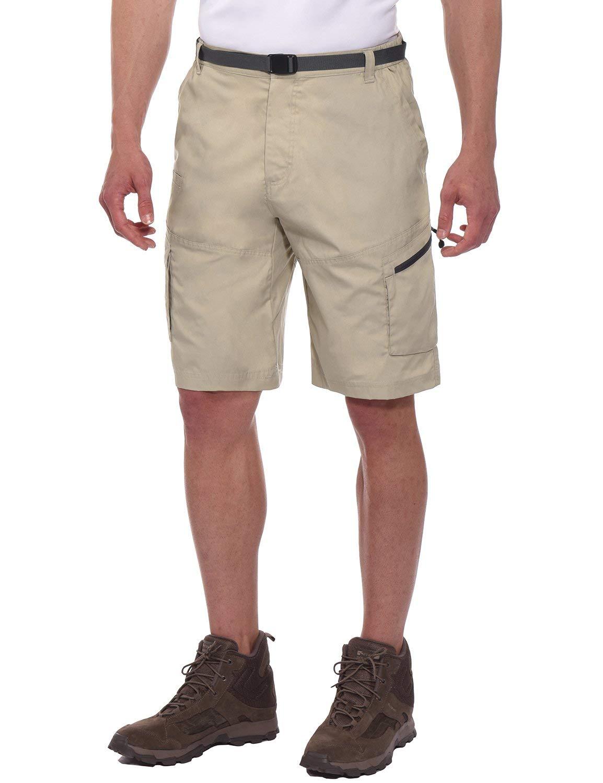 Spexial Men's Tactical Lightweight Canvas Work Cargo Shorts
