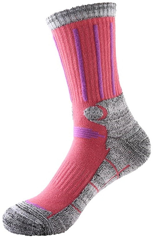 langxi Damen Outdoor Skifahren Klettern High Terry Socken Full Kissen Allgemeine Athletic