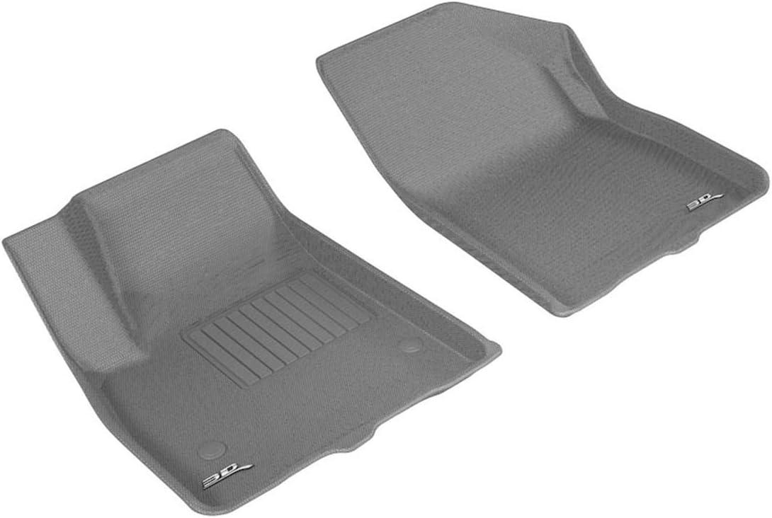 Nylon Carpet Coverking Custom Fit Front Floor Mats for Select Isuzu Models Black