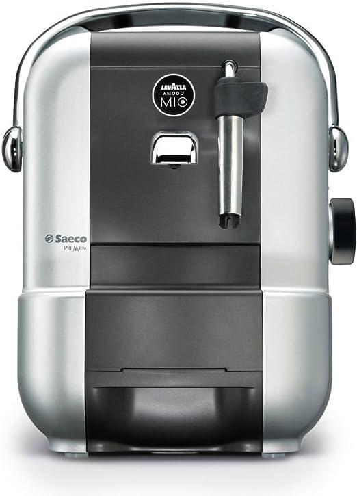 Saeco - Cafetera A Modo Mio Premium Capsulas Ri957701 Manual, 15 Bares, Deposito Agua 0,9L, Tubo De Vapor. Silver.: Amazon.es: Hogar