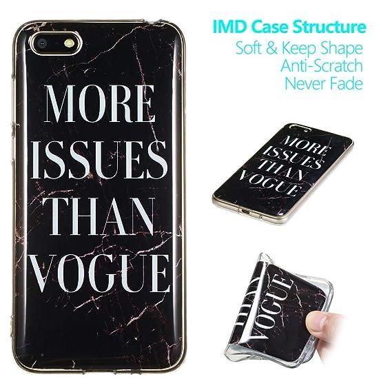 Amazon com: Y9 2019 Case,Y9 2019 Marble Case,XYX Slim Soft Flexible