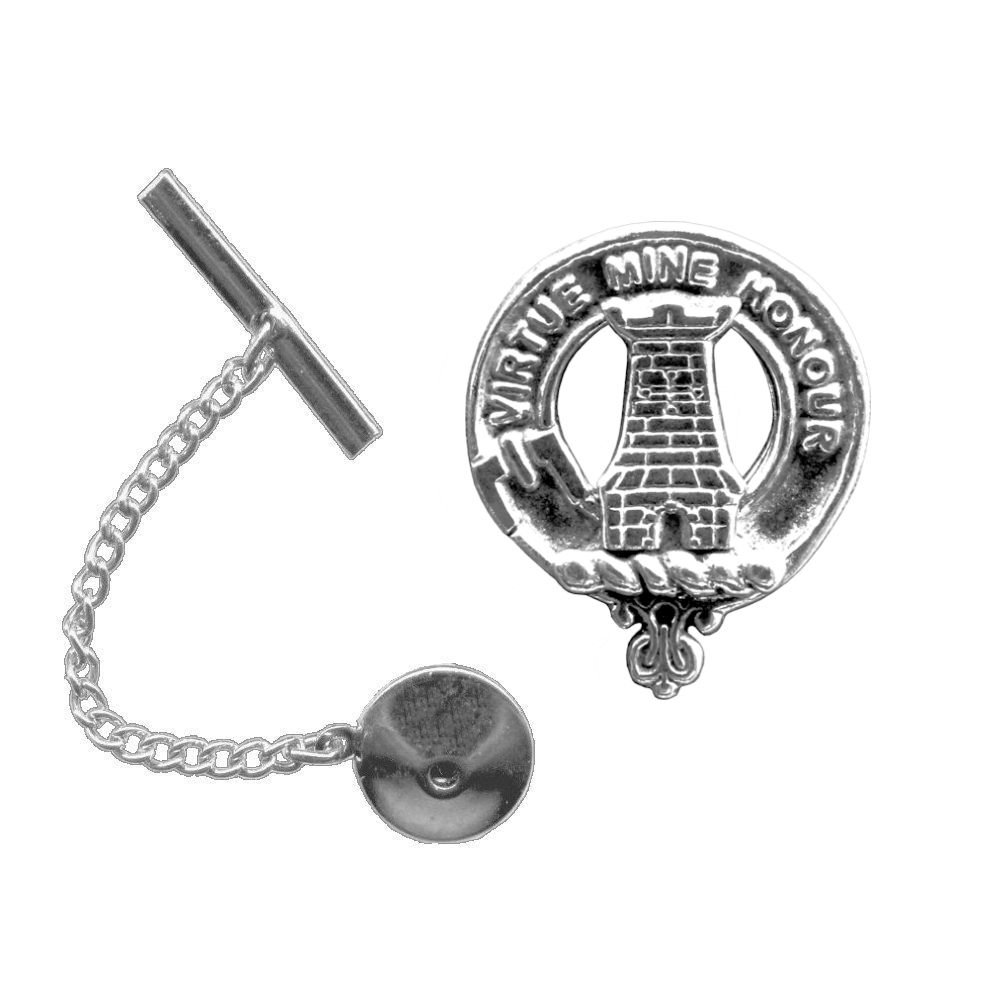 MacLean Scottish Clan Crest Tie Tack/ Lapel Pin