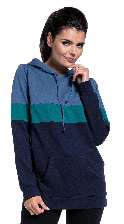 Zeta Ville - Still-Sweatshirt Farbblock Kapuze Top Kängurutaschen Kängurutaschen Kängurutaschen - Damen - 503c B076H6M8H5 Kapuzenpullover Kaufen Sie online 51b4d9