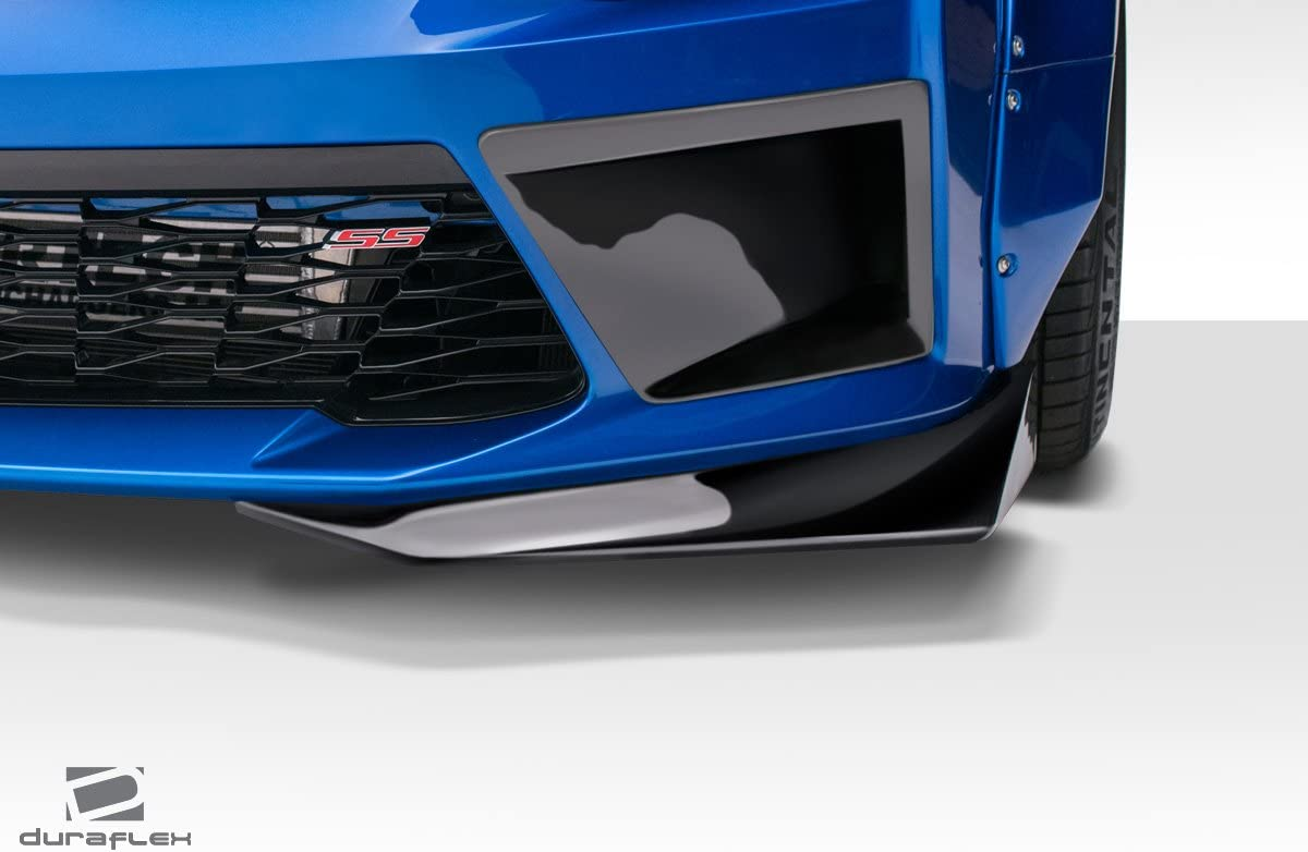 Extreme Dimensions Duraflex Replacement for 2016-2018 Chevrolet Camaro V8 Grid Front Splitters 2 Piece