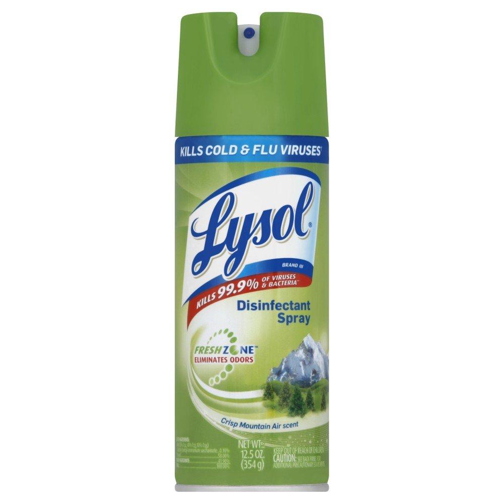 Lysol Disinfectant Spray, For Babys Room, 12.5oz