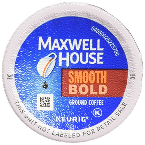 (MAXWELL HOUSE Smooth Bold K-Cup Pods Coffee, 18 Count (Pack Of 4))