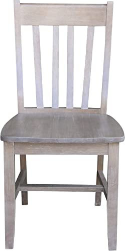 International Concepts Set of Two Cafe Dining Chair