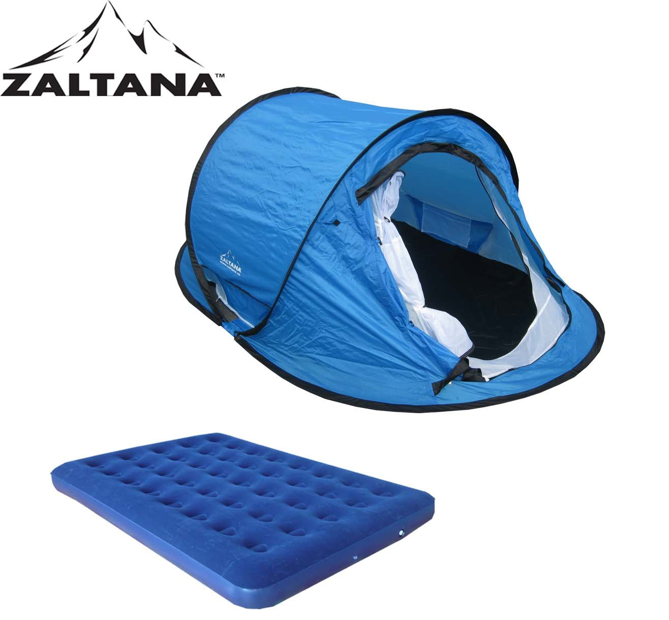 Amazon.com  POP UP TENT WITH AIR MATTRESS(DOUBLE) SET  Family Tents  Sports u0026 Outdoors  sc 1 st  Amazon.com & Amazon.com : POP UP TENT WITH AIR MATTRESS(DOUBLE) SET : Family ...