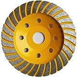 "New Ridgid 5/"" 18 Segment Turbo Cup Grinding Wheel HD TAW5018P1"