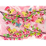 Oopsy Daisy Cherry Tree Birdies by Winborg Sisters Canvas Wall Art, 24 by 18-Inch