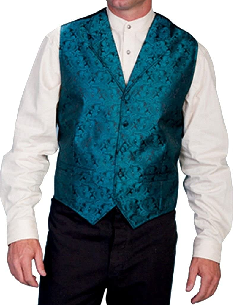 Scully Rangewear Men's Paisley Print New product!! famous Tall and Big Vest