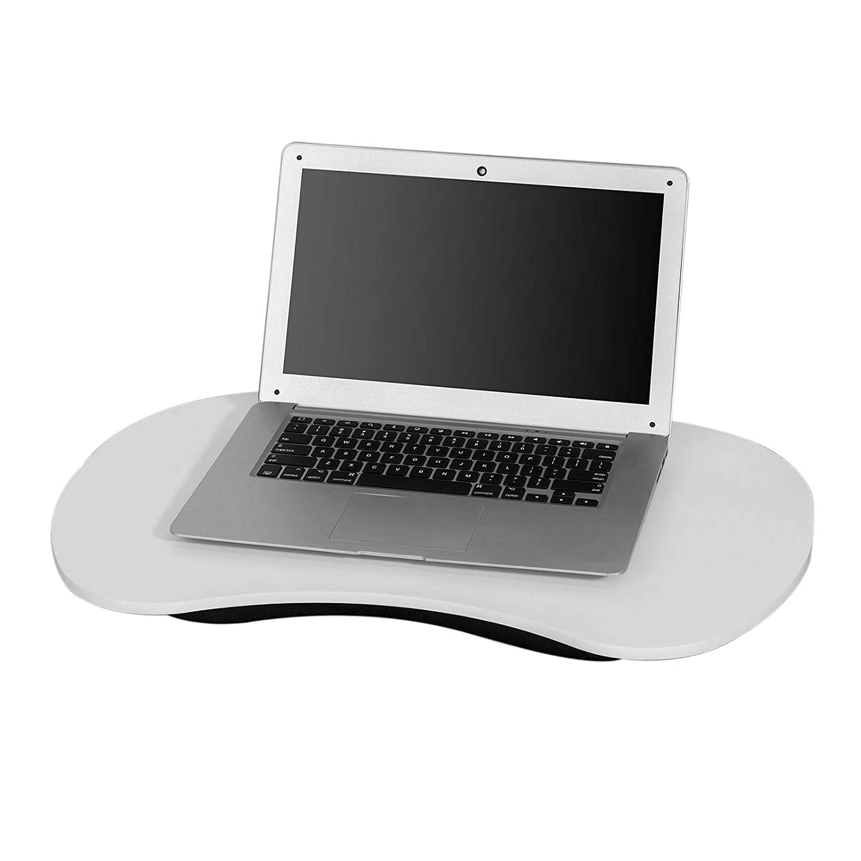 SoBuy Cuscino Supporto Tavoletta per Pc Notebook,adatto di laptop 13-17.3 pollici, bianco FBT70-W