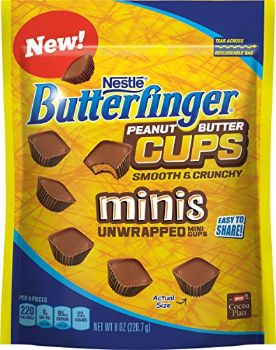 butterfinger-unwrapped-mini-peanut-butter-cups-resealable-bag-8-ounce-pack-of-12