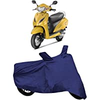 DRIZE™ Mascot Two Wheelers Cover for Honda Activa 5G Extra Surface Body Protection Cover Waterproof (Blue and RED)
