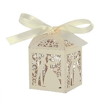 ROSENICE Gastgeschenk Geschenkbox Luxus Hochzeit Süßigkeiten Candy ...