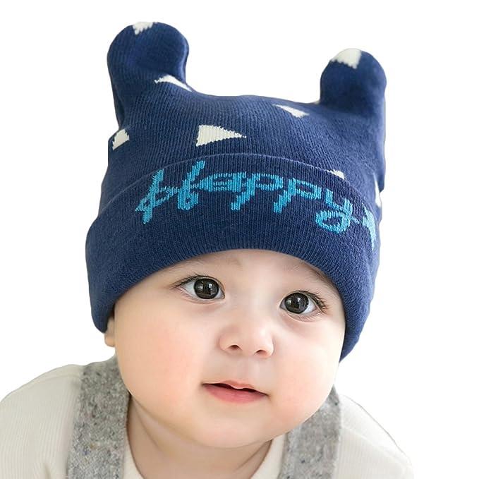 Juleya Cappello del beanie del bambino - Berretto Cappello Invernale a maglia  Bambini infantili del bambino 62fe237c0a8e