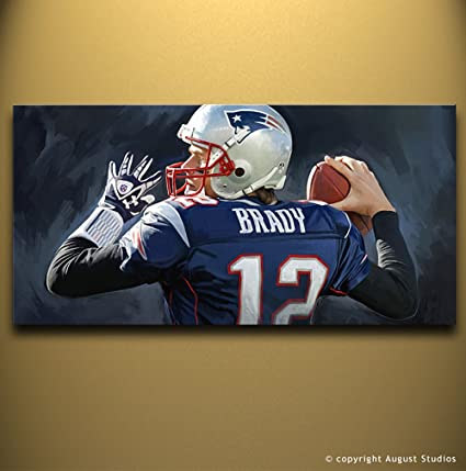 Image Unavailable. Image not available for. Color  Tom Brady New England  Patriots ... c5896b4ba