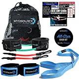 Kinetic Bands All-Star Cheer Kit for Improving Cheerleader Fitness and Performance, Flexibility Stunt Strap, TumblePro X, Cheerleading Workout DVD