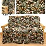 Travel Skirted Futon Slipcover Full 5 pc pillow set 621