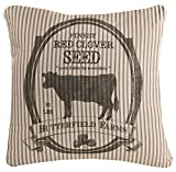 Heritage Lace FH-013 Farmhouse Butterfield Farms Pillow, 22″ x 22″ For Sale