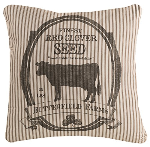 Heritage Lace Farmhouse 22 x22 Butterfield Farms Pillow, 22 x 22