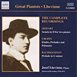 Classical Music : Great Pianists: Josef Lhevinne