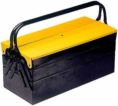 Maurer 92204 - Caja herramientas metálica de 600 x 230 x 210 mm ...