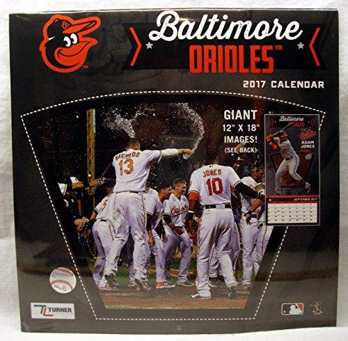 Baltimore Orioles 2017 Calendar (Baltimore Orioles Calendars)