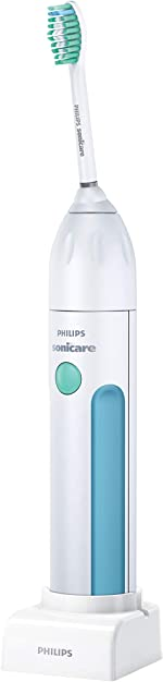 Philips Sonicare Essence Sonic Electric Rechargeable Toothbrush, White, FFP