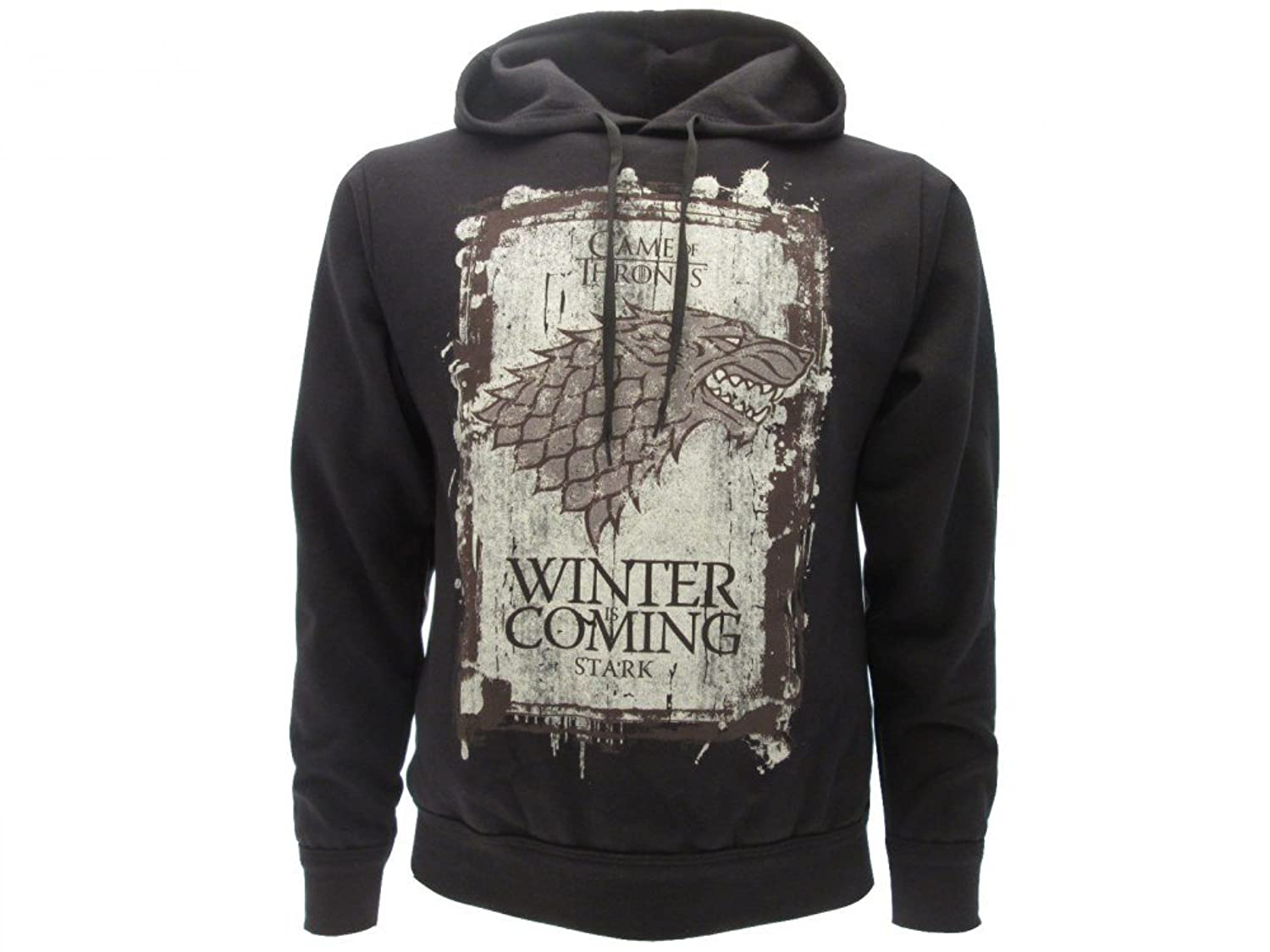 Super Sweat à capuche Game of Thrones Winter Is Coming (en anglais) Pull  PV25
