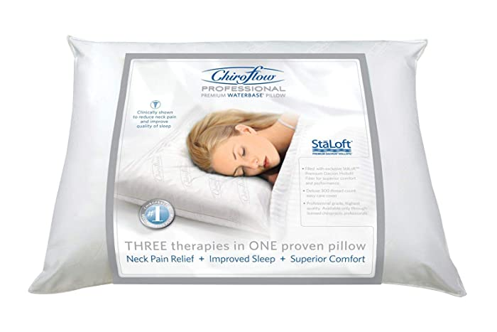 Chiroflow Waterbase Waterpillow, Standard, White