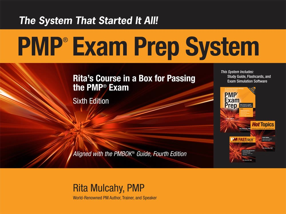 The Pmp Exam Prep System Ritas Course In A Box For Passing The Pmp