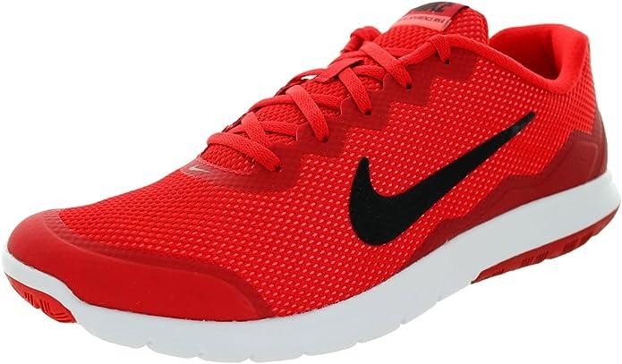 Nike Flex Experience Run 4, de correr para hombre, color Rojo, talla 47.5 EU: Amazon.es: Zapatos y complementos