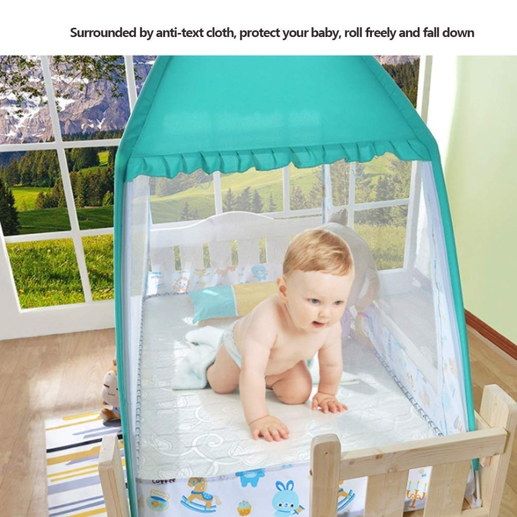 NSHUN Pop-Up Mosquito Net Tent for Beds Anti Mosquito Bites Folding Design with Net Bottom for Babys Adults Trip (Size : 1.5m) by NSHUN (Image #2)