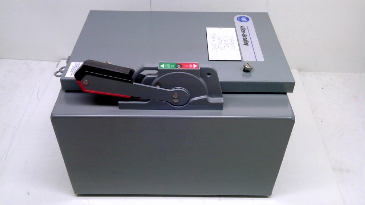 Allen Bradley 1494G-Cf3j6-98-412-414 60 Amp Enclosed Disconnect Safety 1494G-Cf3j6-98-412-414