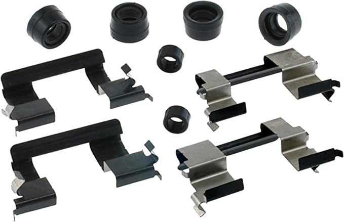 and Lubricant Seals ACDelco 18K1750X Professional Front Disc Brake Caliper Hardware Kit with Clips
