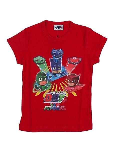 Masks Super Pigiamini Maglietta Shirt Pj Da Maniche T Bambino xdBeCo