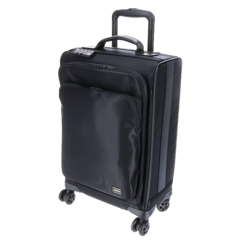 (ポーター) PORTER トロリーバッグS 25L 1~2泊程度 [TIME/タイム] B07BKN4GXTブラック