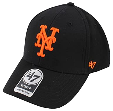 sneakers for cheap 75ea5 06431 Image Unavailable. Image not available for. Color   47 Brand Relaxed Fit Cap  - MVP New York Mets black