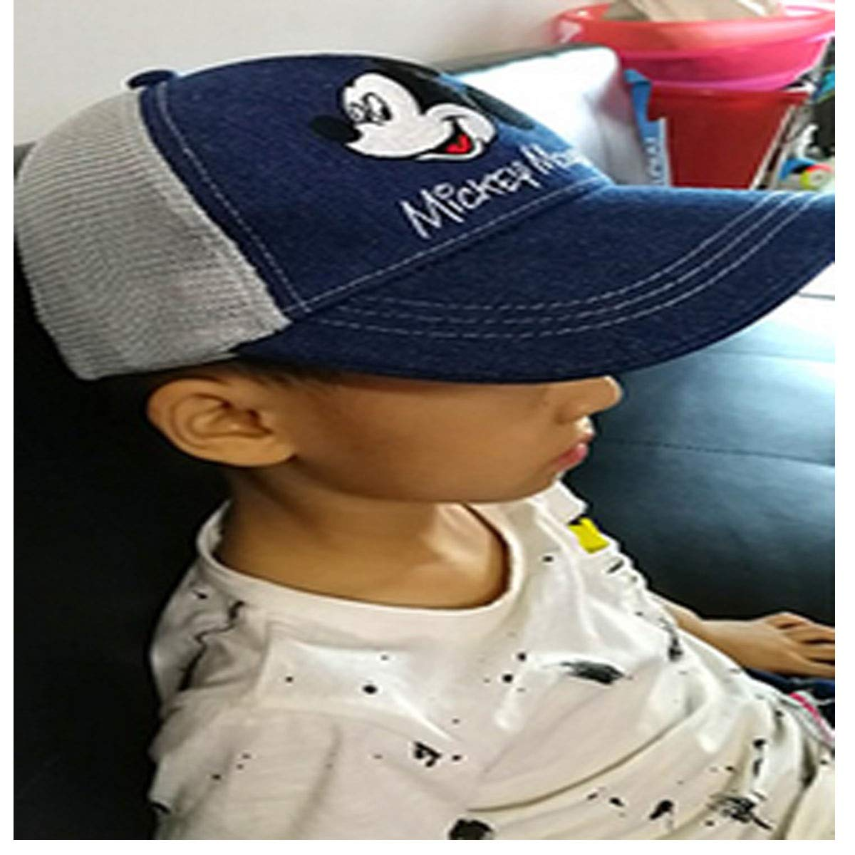 21.2-21.6 6-10 Inches Blue//Khaki//Cap Circumference 50-52CM 3-5 20.0-20.8 Years Old Inches Kehuitong Hat Childrens Sun Hat Outdoor Sports Cap Years Old 53-54CM