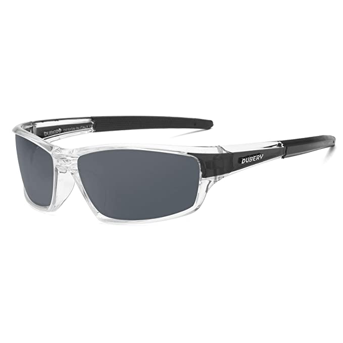 ce66210e64 DUBERY Mens Sport Polarized Sunglasses Outdoor Riding Fishing Goggles  Glasses ( 1)