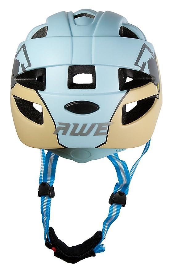 AWE® El DiggerTM 15 respiraderos infantiles In-Mould Ciclismo Casco 48-52cm: Amazon.es: Deportes y aire libre