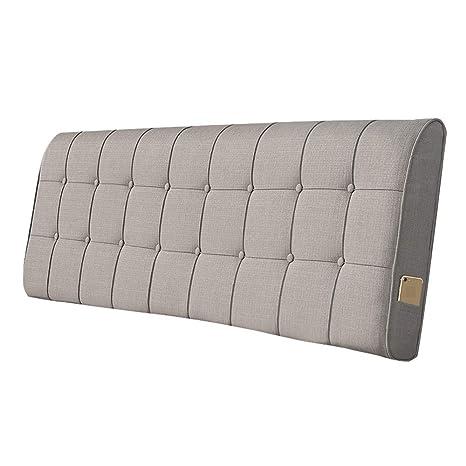WLH-Cushion Cojín para cabecero de Cama, con cuña y Respaldo ...