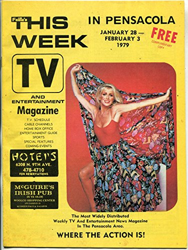 This Week in Pensacola Magazine January 1979- Suzanne Somers- Theodore - Stores Pensacola In