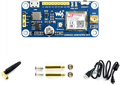 UDP HTTP DTMF MMS FTP SMS waveshare 4G // 3G // GNSS HAT for Raspberry Pi Zero//Zero W//Zero WH//2B//3B//3B+//4B,Jetson Nano Based on SIM7600A-H Supports Dial-up TCP Mail Telephone Call
