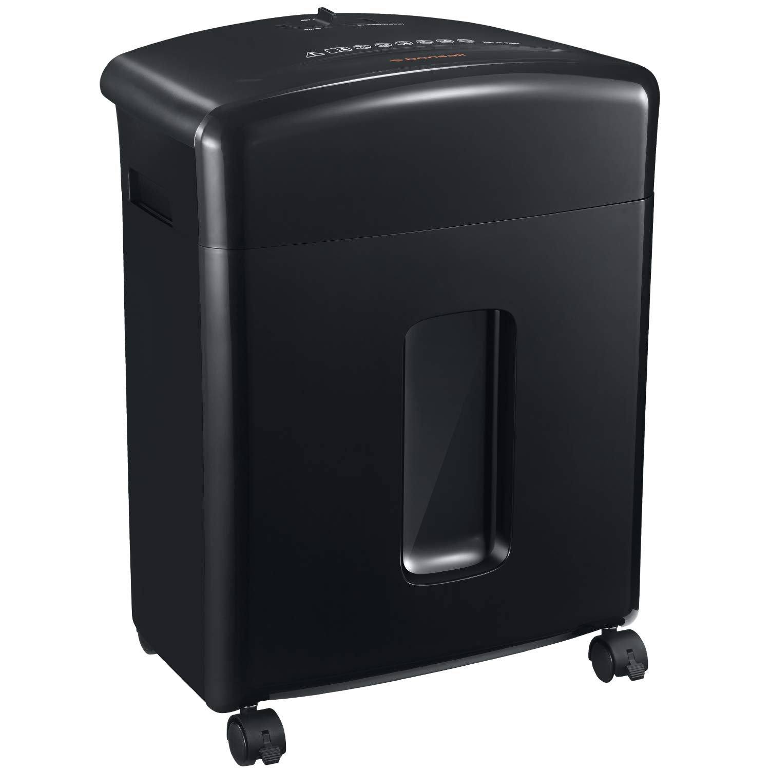 Bonsaii 12-Sheet Cross-Cut Paper, CD/DVD, and Credit Card Shredder with 3.5-gallons Pullout Basket, Black (C220-A) by bonsaii (Image #8)