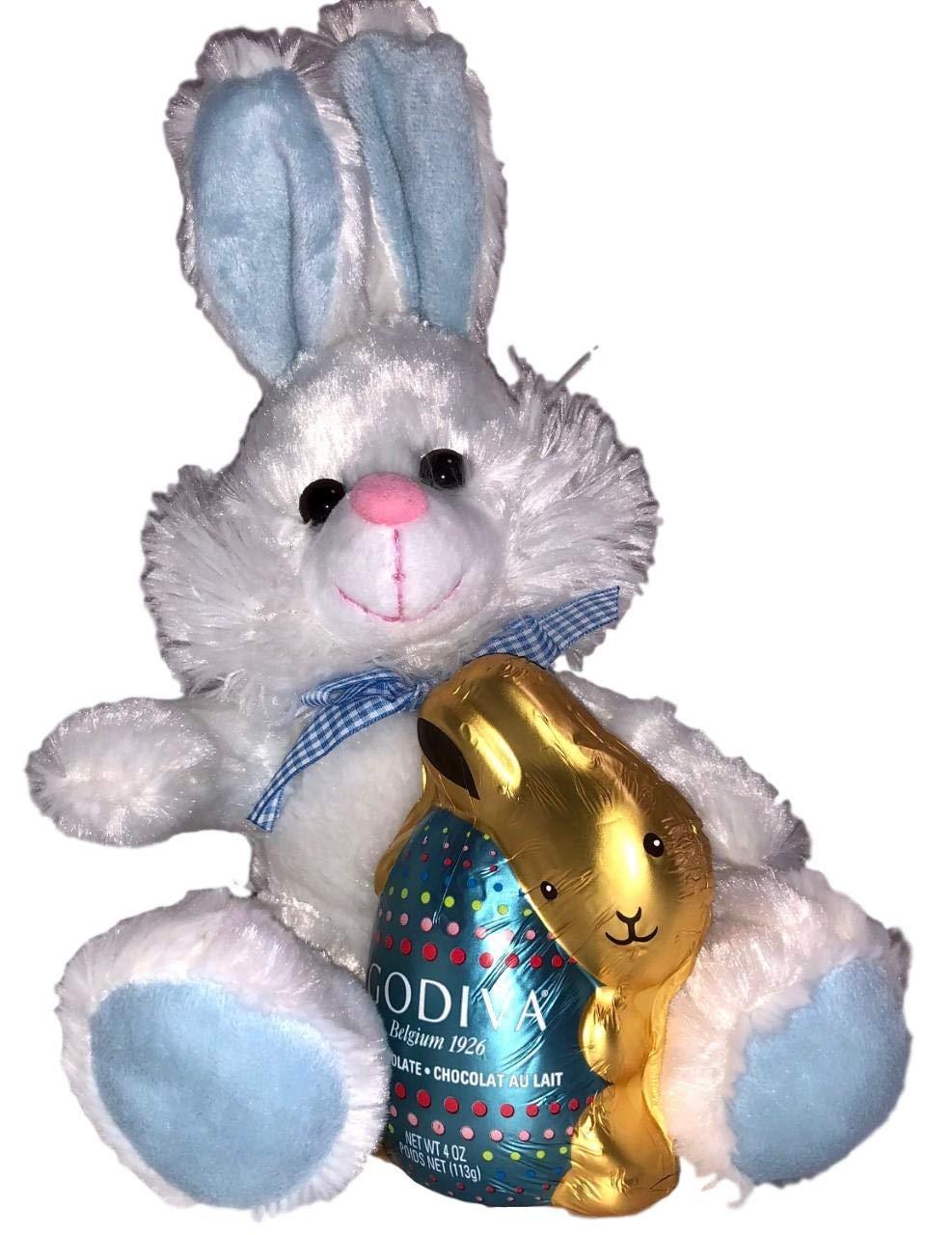 Amazoncom 11 Inch Plush Easter Bunny Rabbit With Godiva