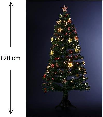 48 LED 120 cm sapin de Noël avec 48 LED de Noël décoration 230 v